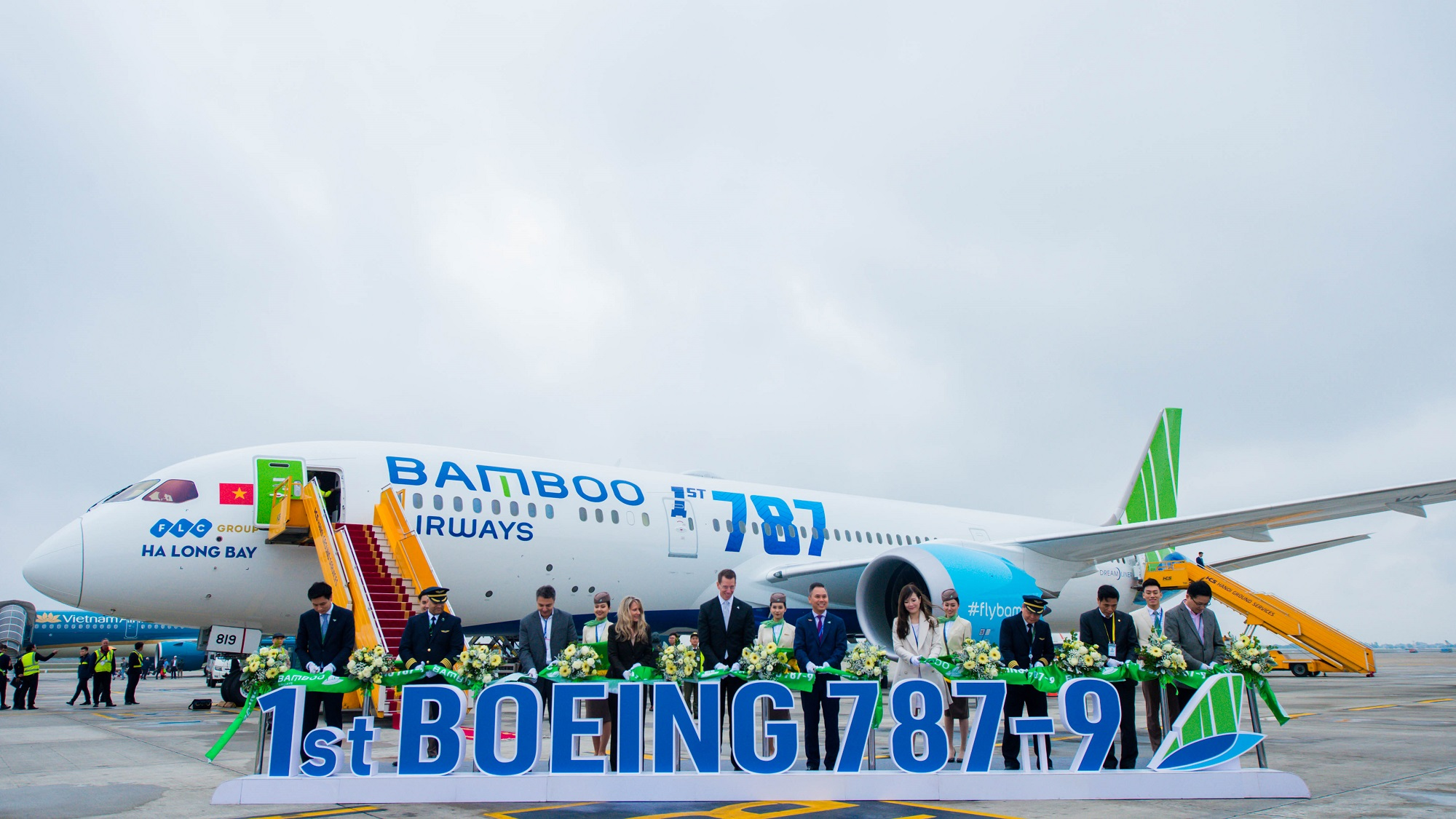 Image result for bamboo airways 787