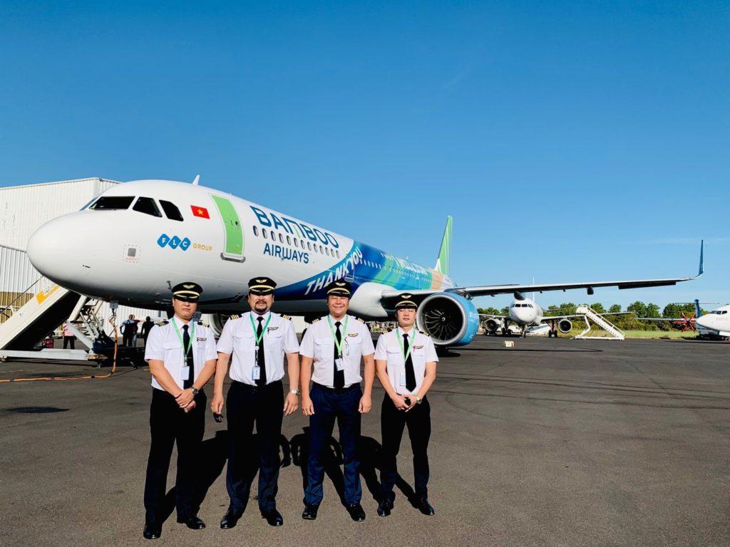 Bamboo Airways được phê chuẩn Giáo trình Huấn luyện phi công từ Cục Hàng  không Việt Nam - Bamboo Airways
