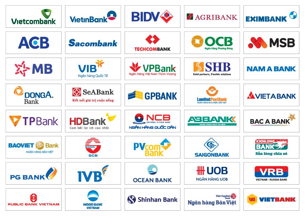 Các ngân hàng kết nối cổng thanh toán Napas