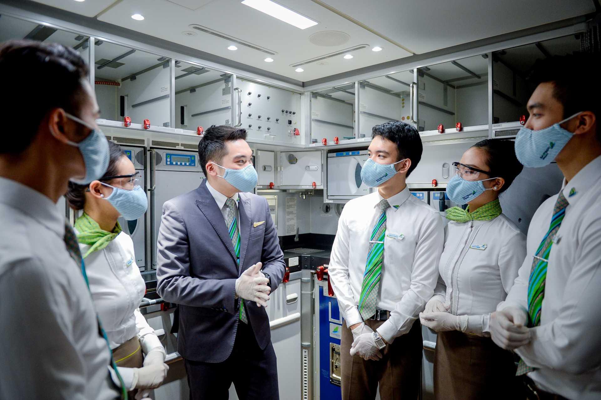 Bamboo Airways luôn tuân thủ chặt chẽ các quy định và hướng dẫn về phòng chống dịch của các cơ quan chức năng